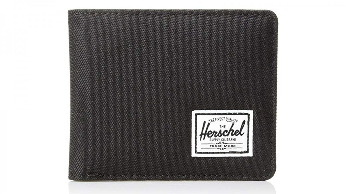 Herschel Men's Hank RFID Bi-fold Leather Wallet