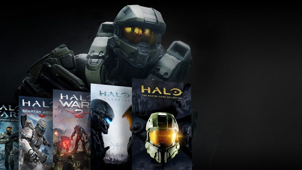 Halo games.