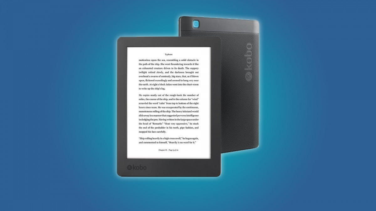 The Kobo Aura H20
