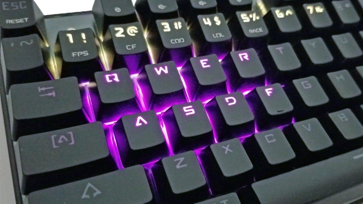 aukey, keyboard, mechanical keyboard, km-g3, rgb, aluminum