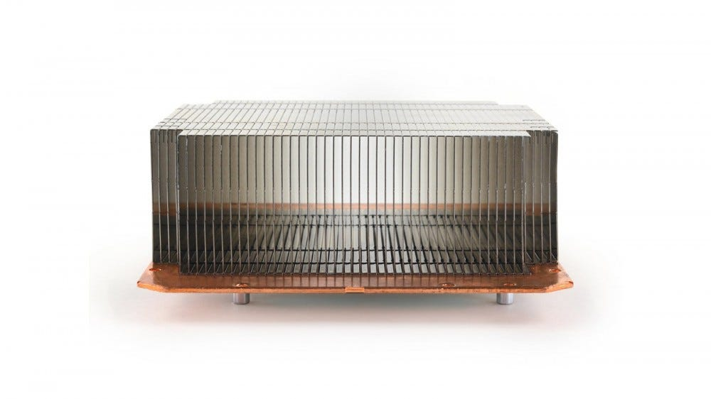 An extremely large heatsink.