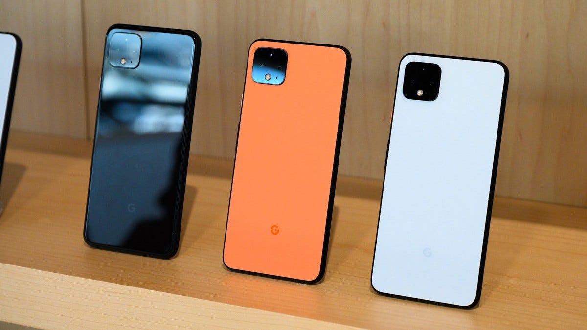 Google Pixel 4 Color Comparison