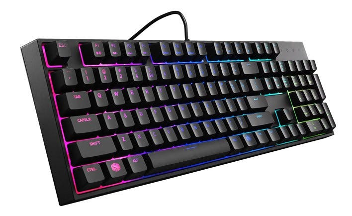 cooler master, keyboard, gaming keyboard, masterkeys,