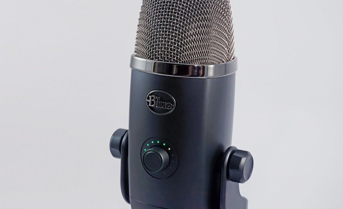 The microphone controls have been condensed, and made even more useful.