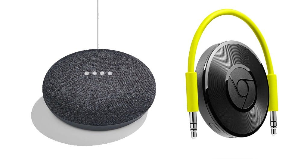 google home, chromecast, chromecast audio, whole home audio,