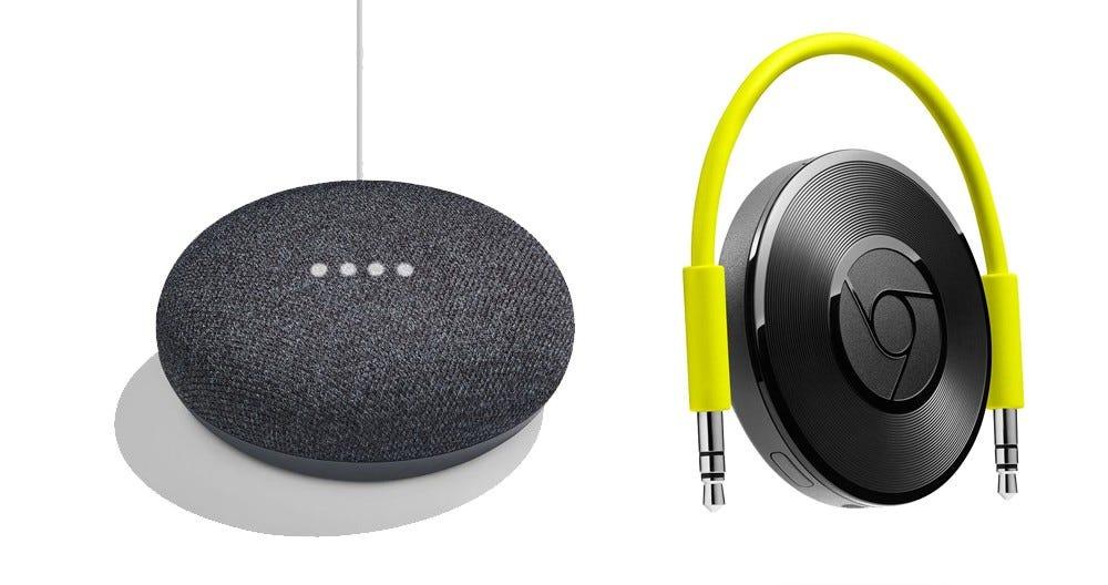google home, chromecast, chromecast audio, whole home audio,
