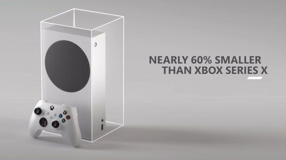 Xbox Series S-Size Comparison