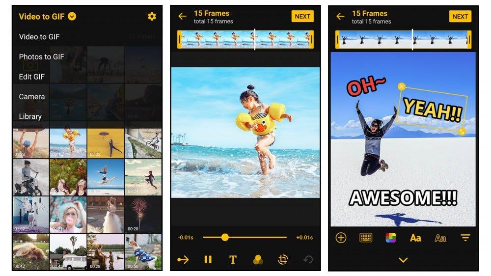 Aplicación ImgPlay GIF maker