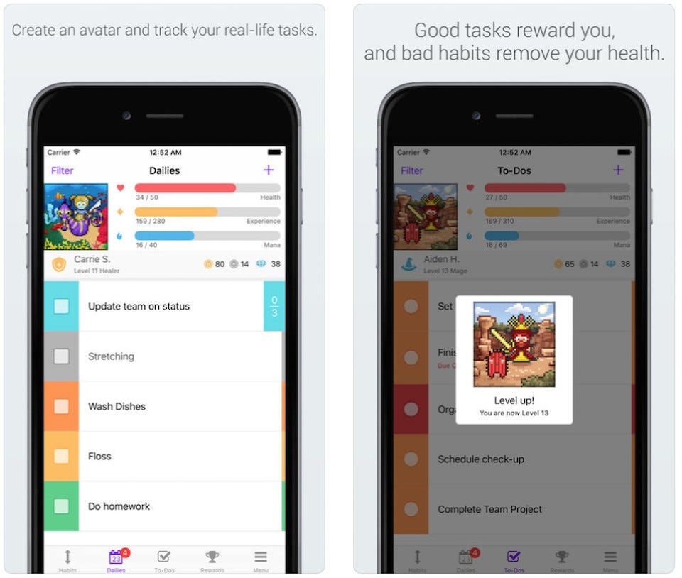 These 5 Apps Turn Your To-Do List and Productivity Into a