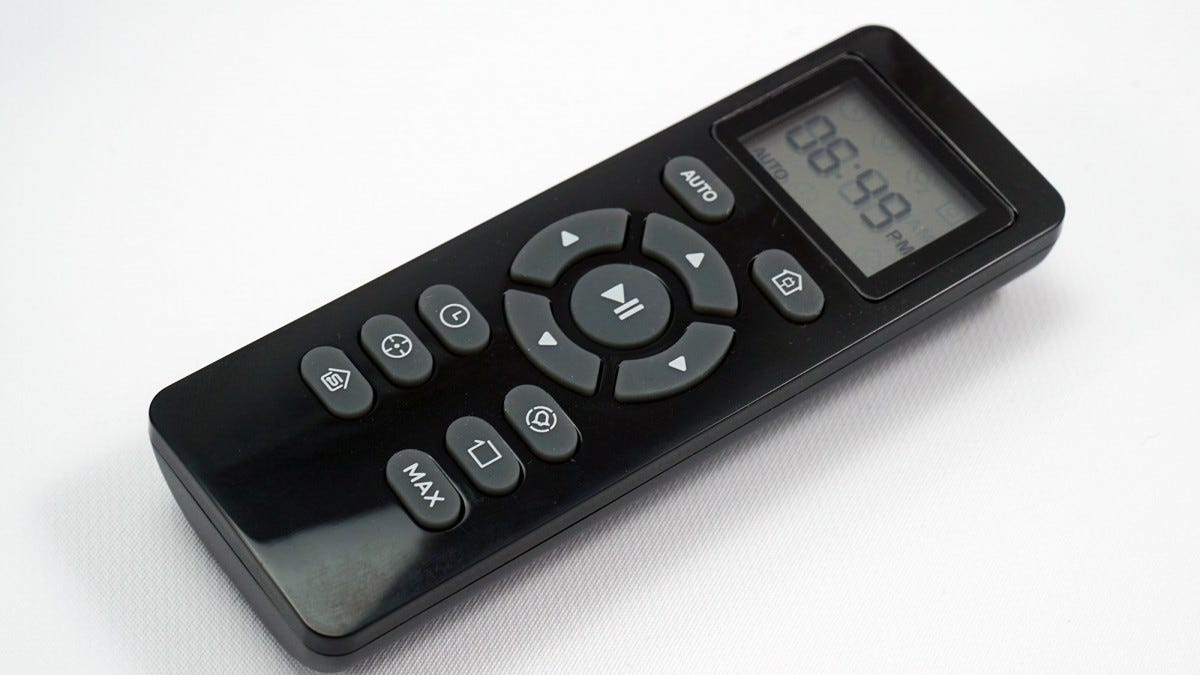 the BG600 remote.