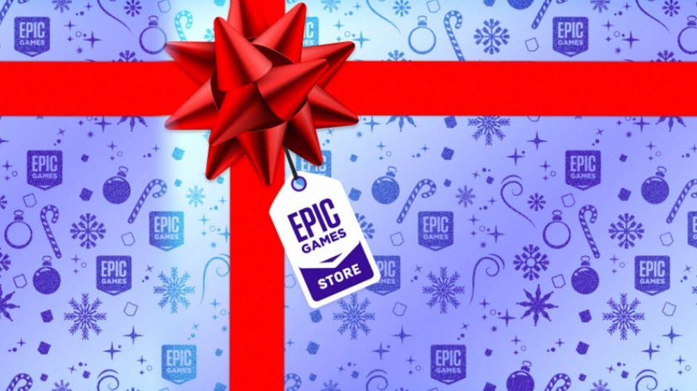 Epic Games Store Holiday Sale graphic