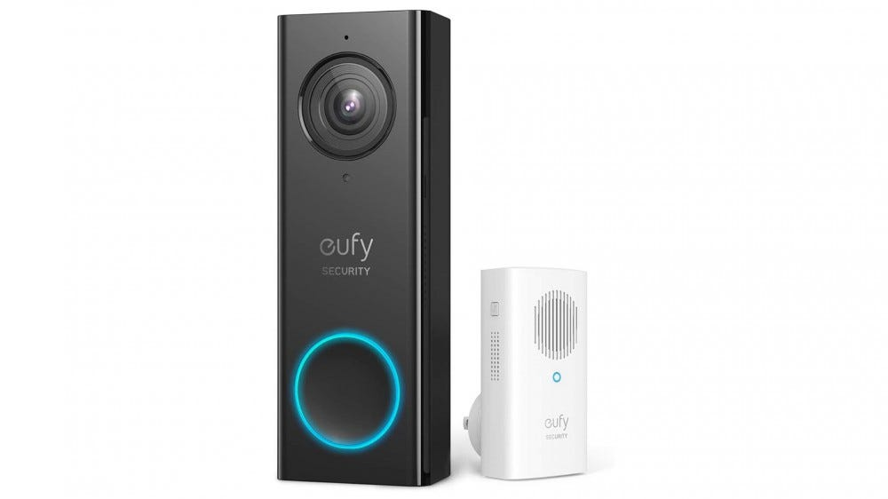 A photo of the eufy Doorbell.