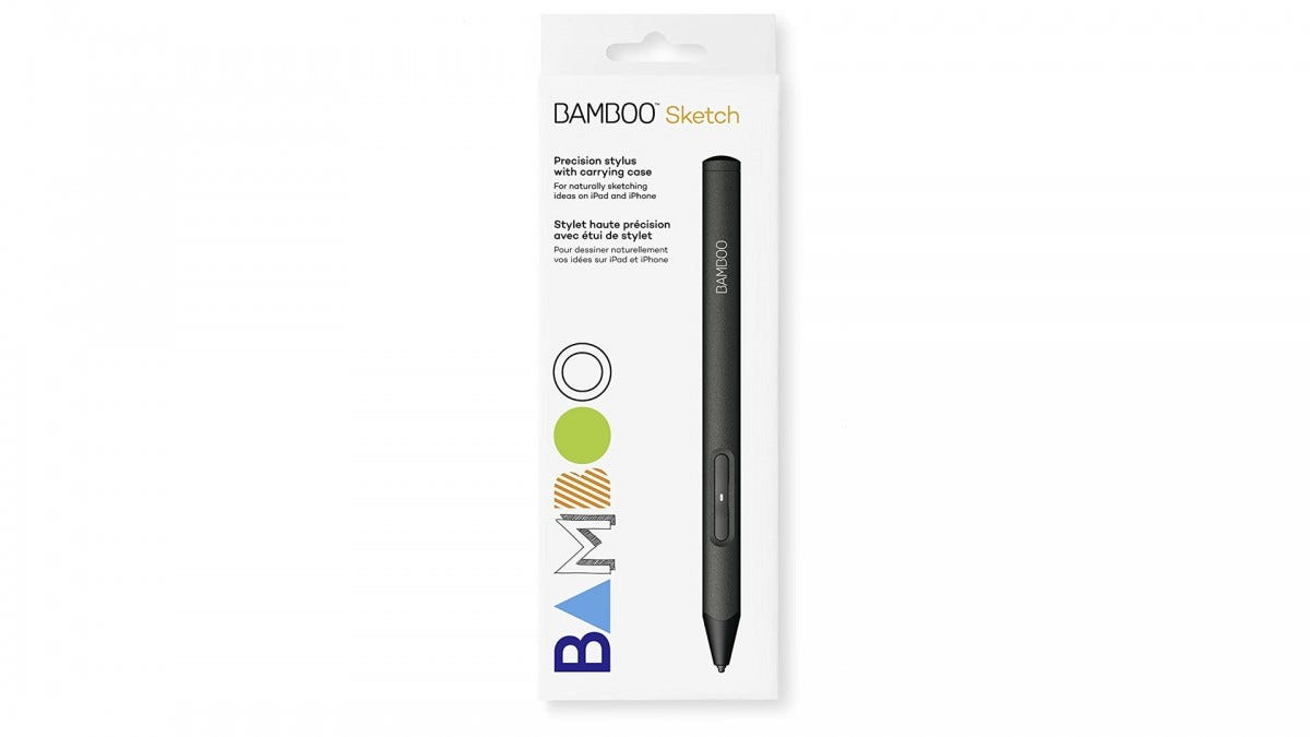 A photo of the Wacom Bamboo Sketch