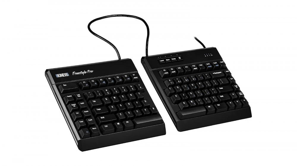 Kinesis Freestyle Pro split keyboard