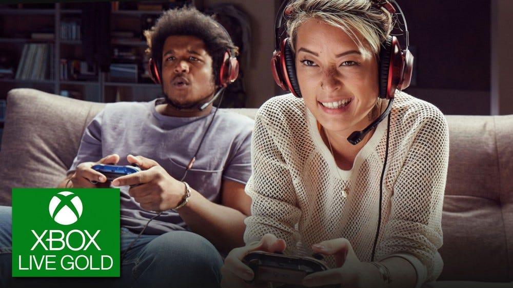 Xbox Live Gold promóciós kép
