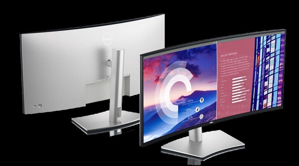 Dell Ultrasharp 38-inch promo image