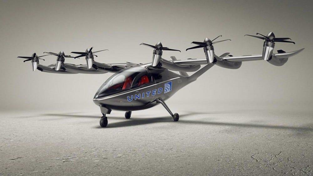 Archer Aviation short-range electric plane