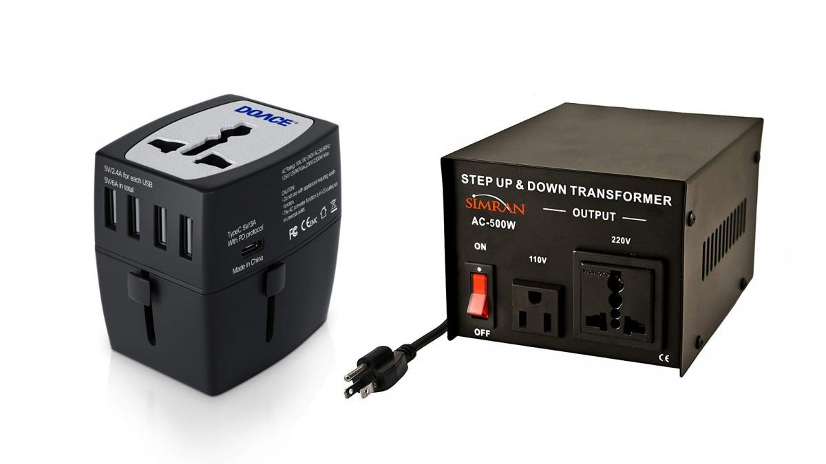 The DOACE step-down converter and the SIMRAN step-up converter.