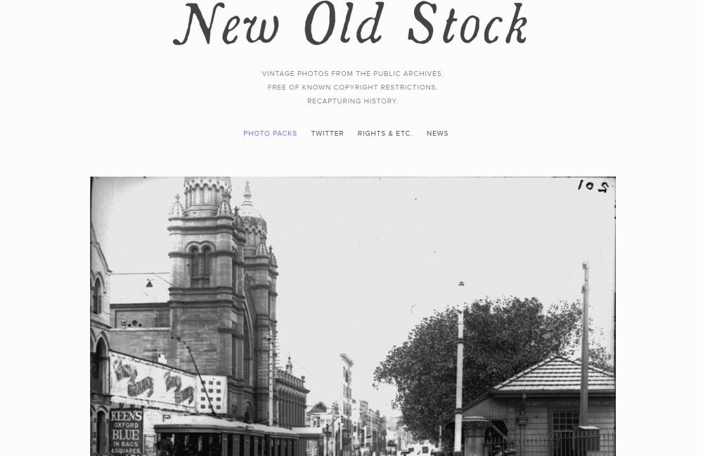New Old Stock stock images