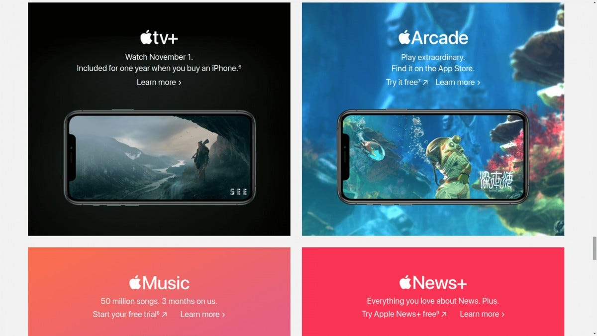 Apple TV+ Offer