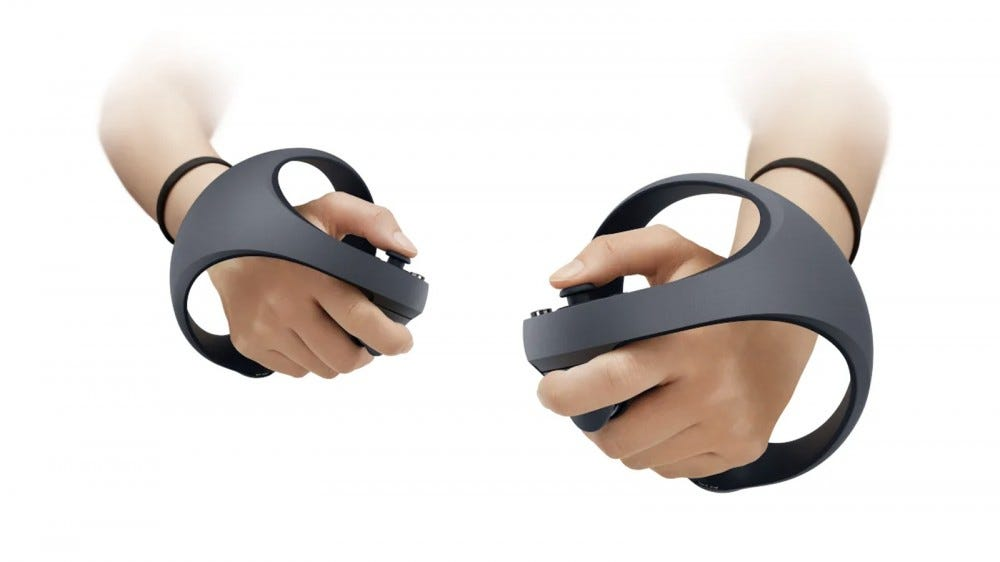 Sony's PS5 VR controllers.
