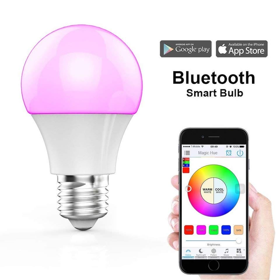 5 Great Color Changing Bluetooth Smart Bulbs That Don't Require Wi