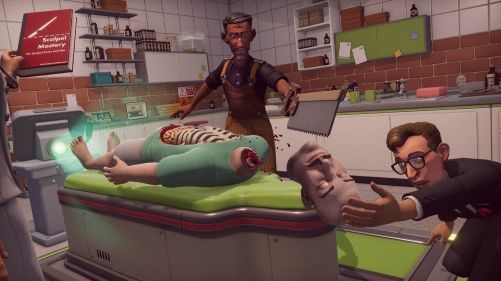 A screenshot from 'Surgen Simulator 2.'