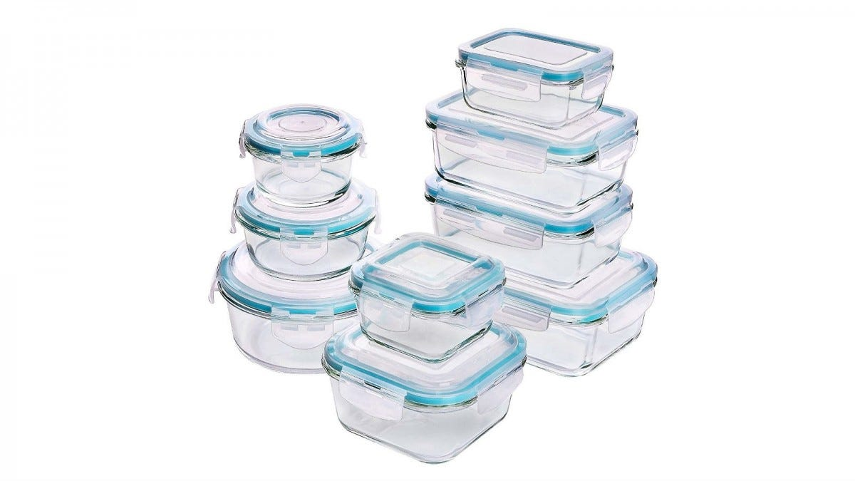 Utopia Kitchen Glass Food Storage Containers