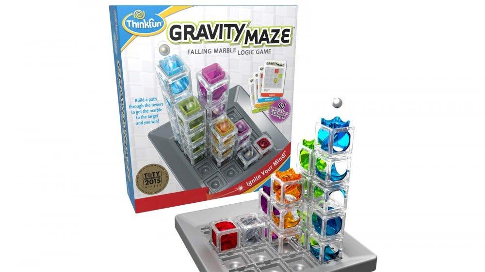 ThinkFun Gravity Maze Marble Run logikai játék