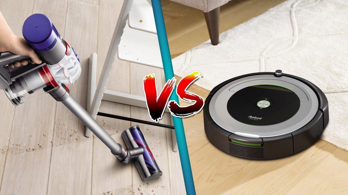 It's time for a robot (vacuum) battle.