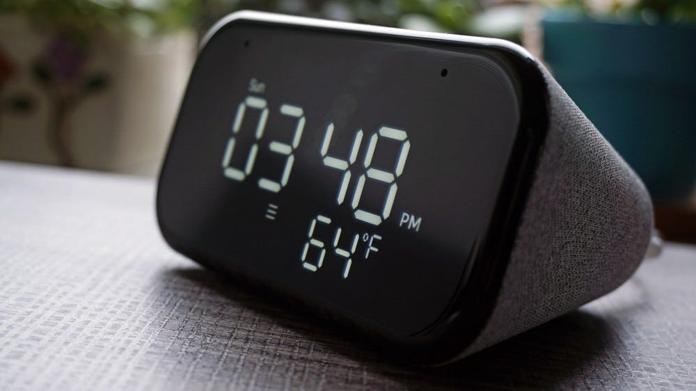 Lenovo Smart Clock Essential screen