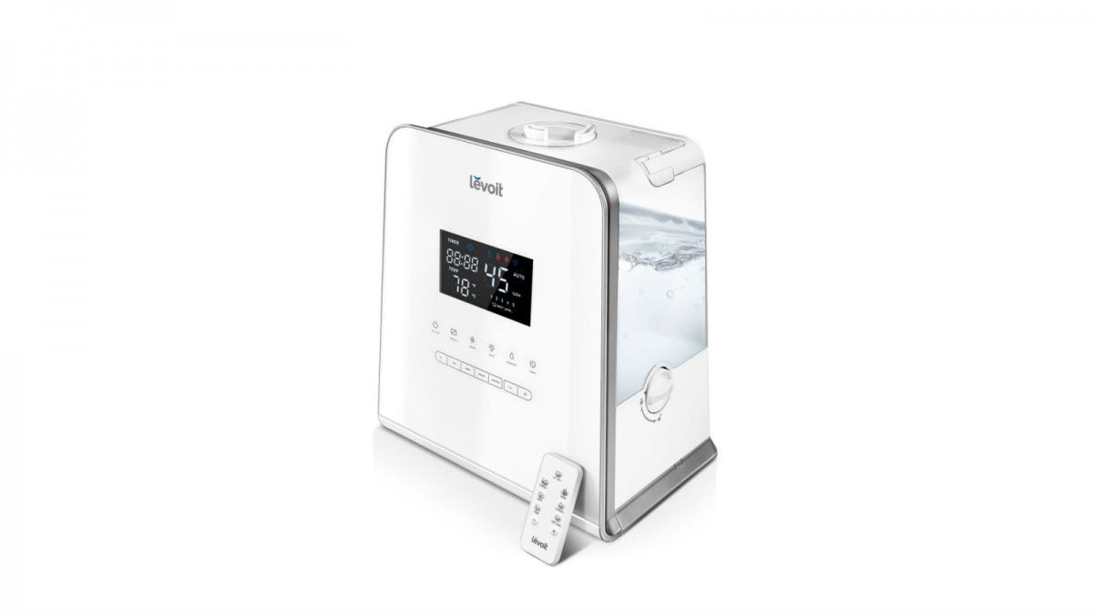 levoit warm and cool mist humidifier