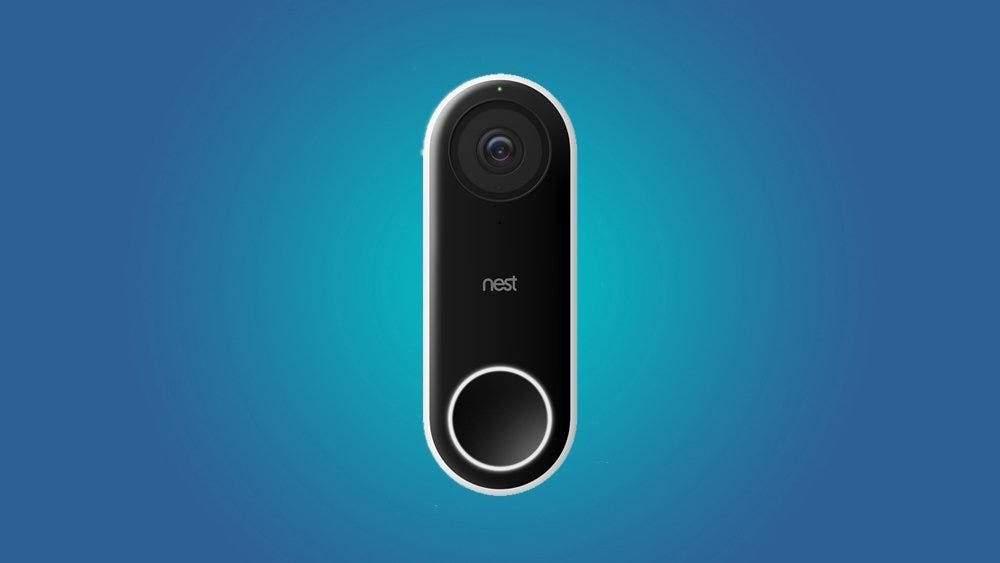 Nest video doorbell