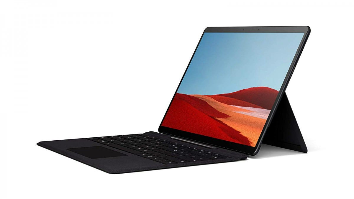 Microsoft Surface Pro X from the side