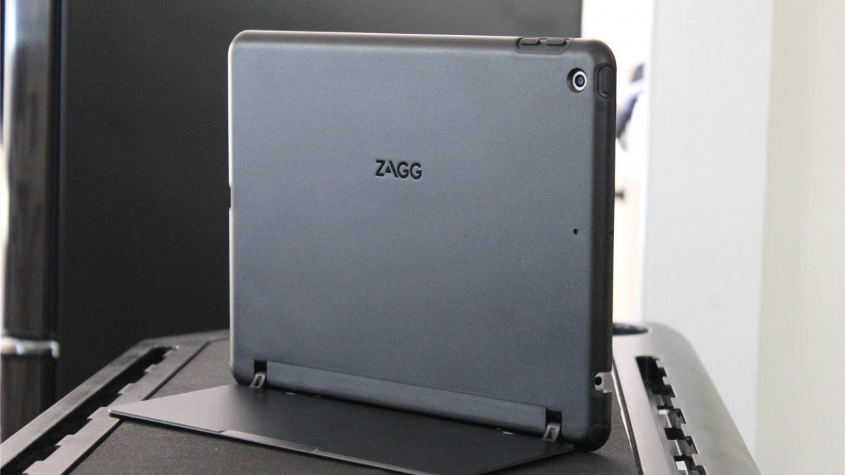 Zagg Slim Book Go from the back