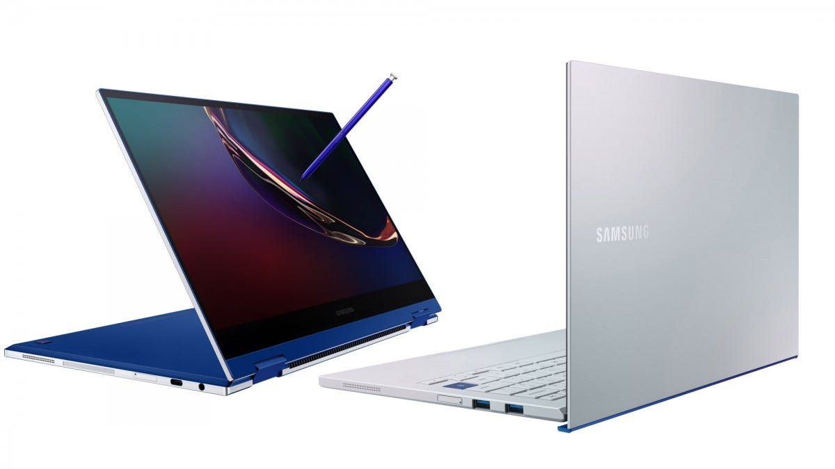Galaxy Book Flex and Galaxy Book Ion