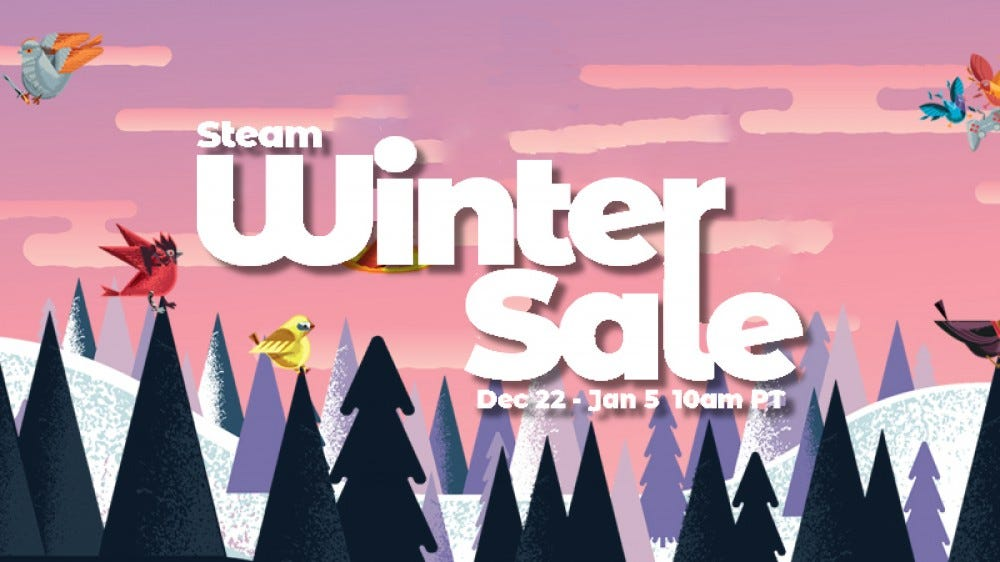 Steam Winter Sale Store Art of winter forest