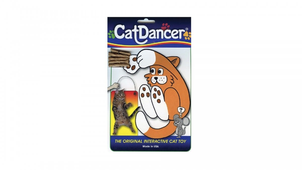 The Cat Dancer wire toy.