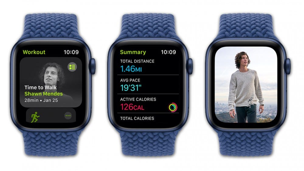 Apple watch with Time to Walk