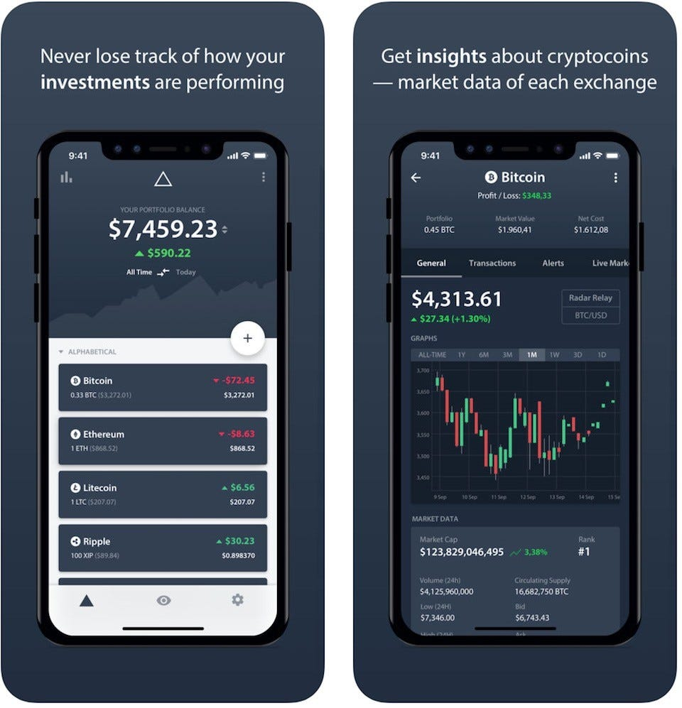 best app to view cryptocurrency