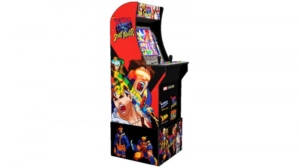 Arcade1Up X-Men Vs.  Street Fighter Cabinet