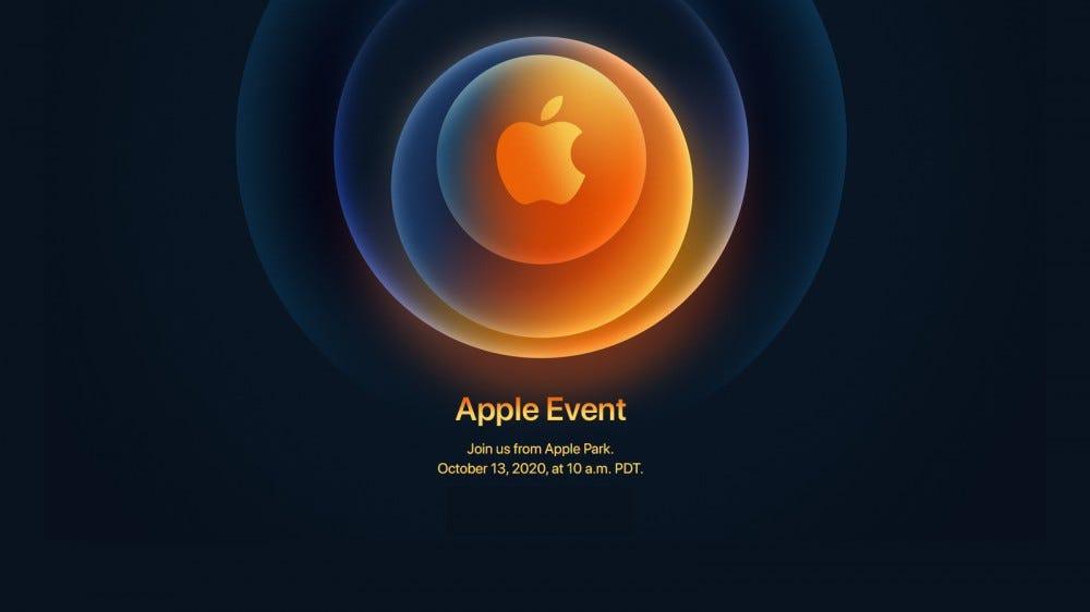 Apple event link.