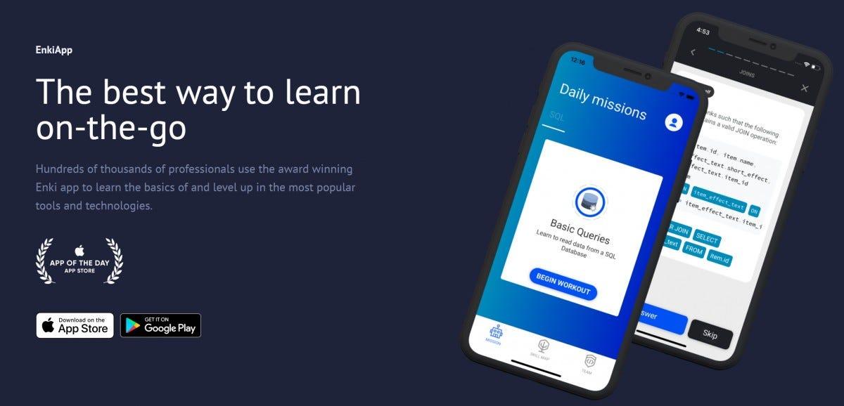Enki Mobile Apps
