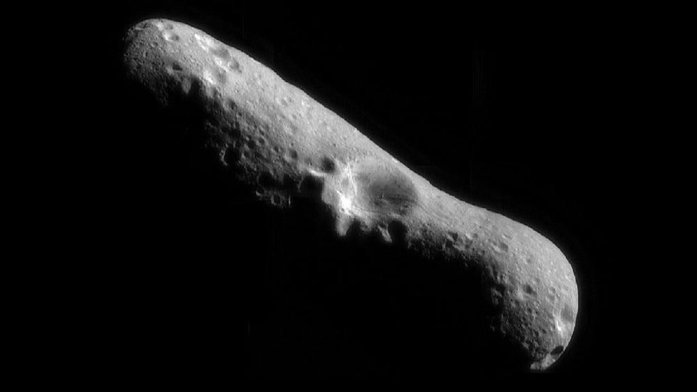 NASA has no photos of Asteroid 2001 FO32, so here's a picture of Eros.