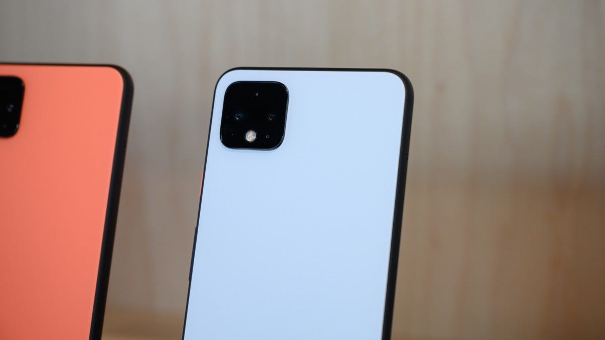 Pixel 4's camera hump