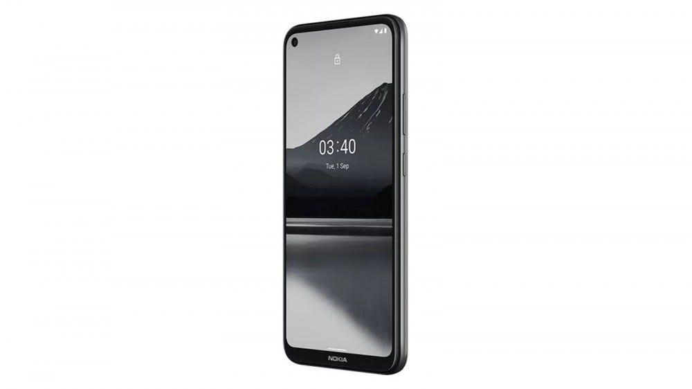 The Nokia 3.4 phone.