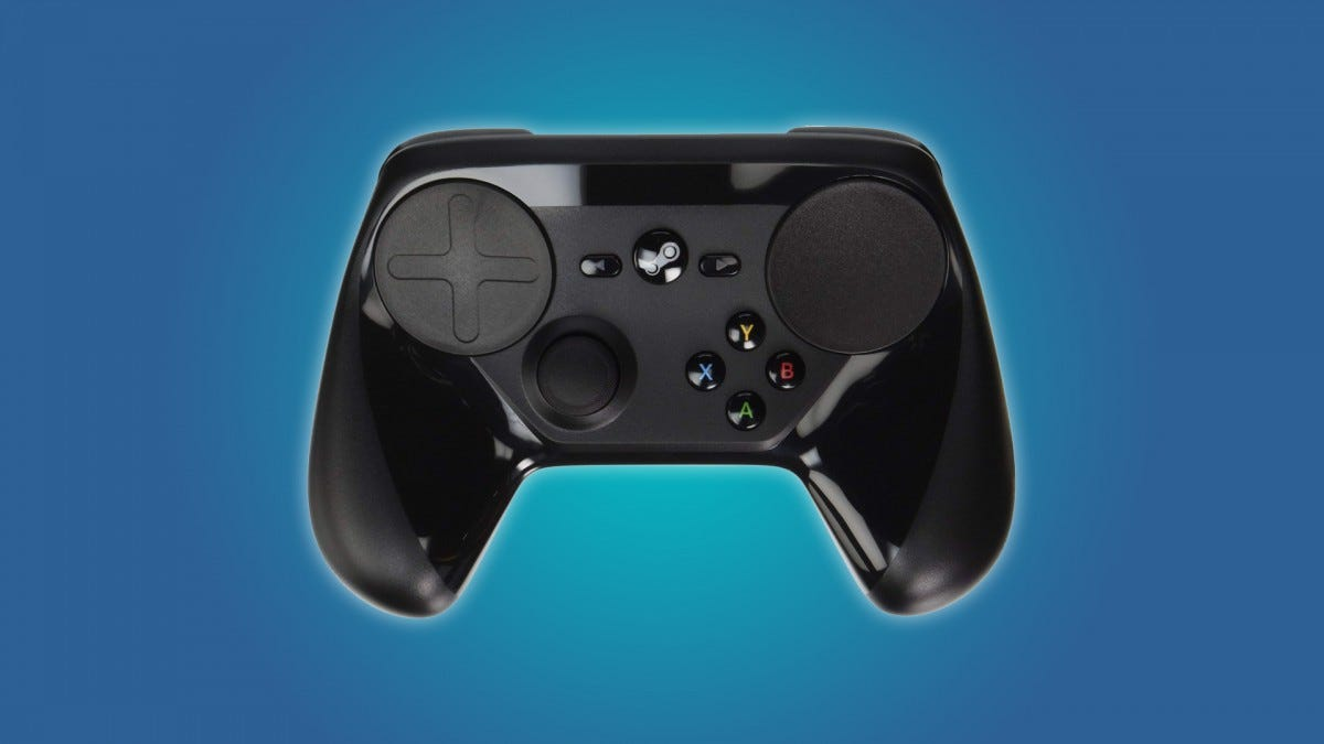 0621e42868f If you're a hard-line keyboard evangelist with a shameful lust for  comfortable controllers, then you should check out the official Steam  controller.