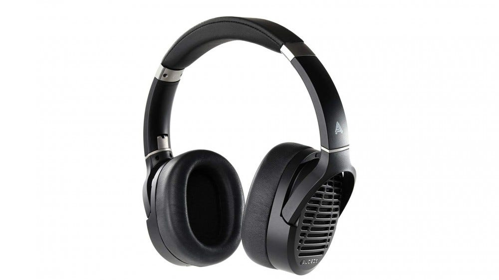 A photo of the Audeze LCD-1 open backed headphones.