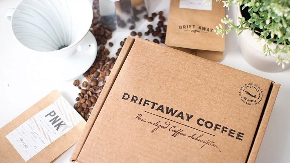 Driftaway Coffee best cold brew coffee subscription box