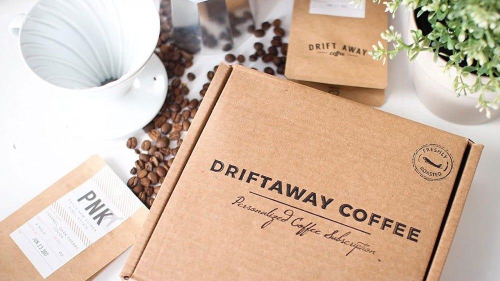 Driftaway Coffee best cold brew coffee subscription box